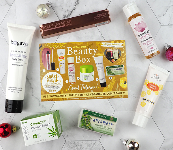 The November Vegan Cuts Vegan Beauty Box