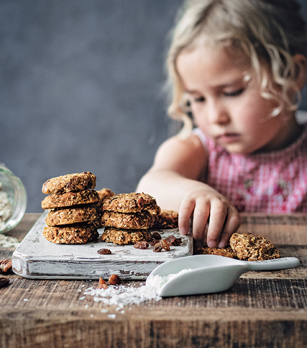 Pumpkin Oat Cookies from Naturally Sweet Vegan Treats by Marisa Alvarsson