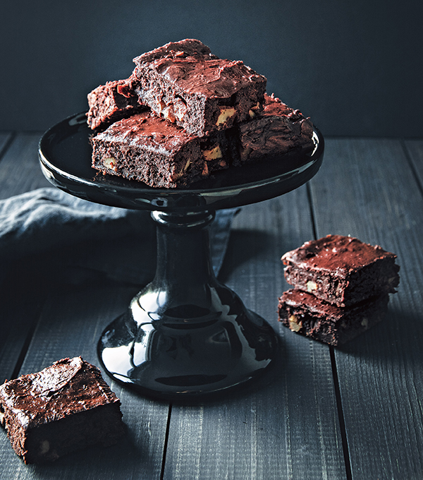 Veggie Patch Brownies from Naturally Sweet Vegan Treats by Marisa Alvarsson