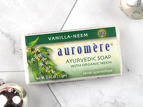 Auromère Vanilla-Neem Ayurvedic Soap
