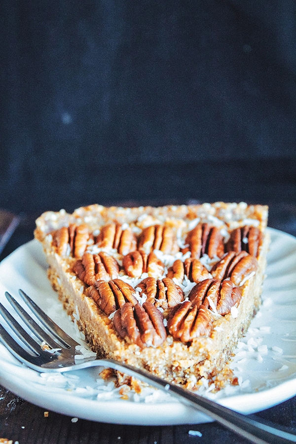 Maple Pecan Pie from The Ultimate Vegan Cookbook