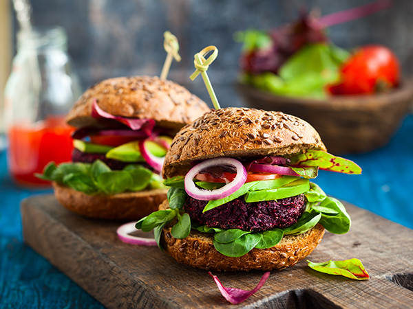 The Incredible Veggie Burger from No Meat Athlete