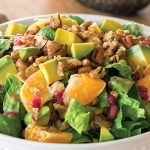 Winter Lentil and Pomegranate Salad from What the Health