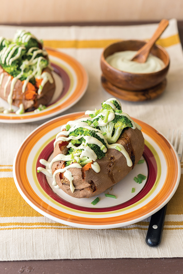 Baked Sweet Potato from What the Health by Kip Andersen and Keegan Kuhn with Eunice Wong