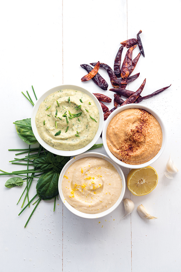 Hummus Trio from What the Health by Kip Andersen and Keegan Kuhn with Eunice Wong