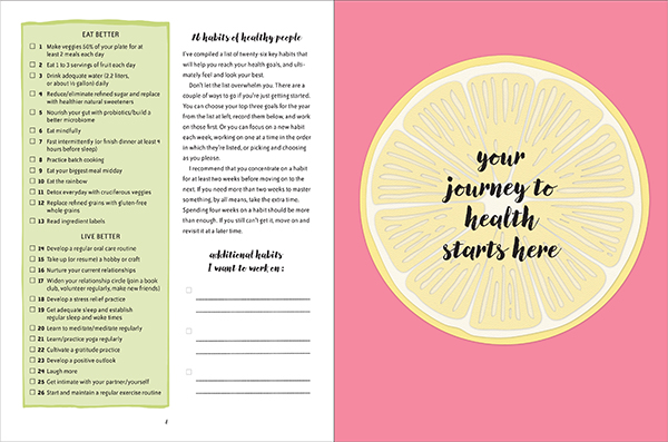 Be Healthy Every Day pages