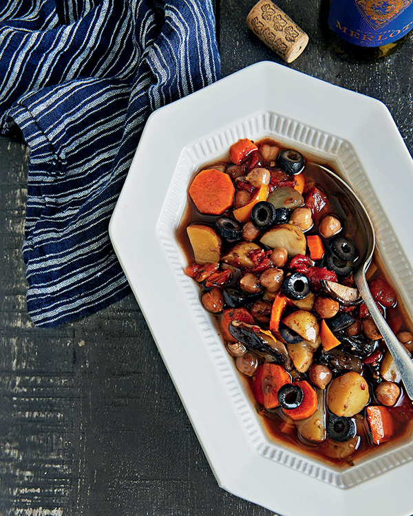 Chickpea Cacciatore from The Vegan Slow Cooker