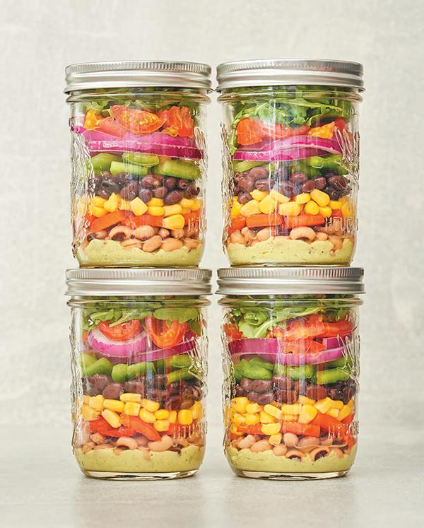 Cowboy Caviar Salad from Vegan Meal Prep by JL Fields