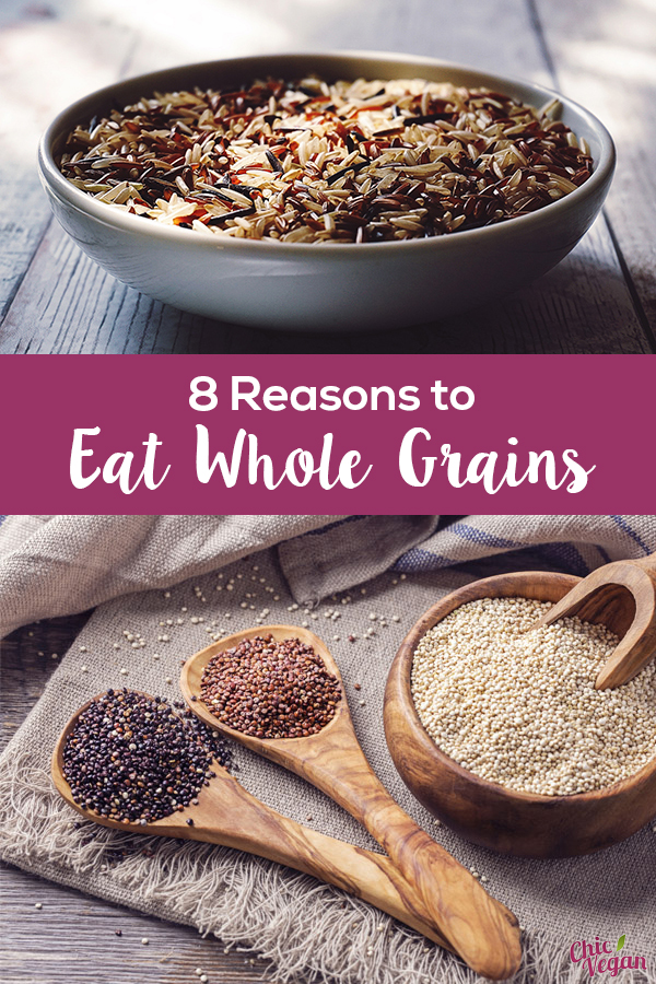 Why eat whole grains? They're actually very nutritious! Here are just a few reasons why they should be part of your diet.