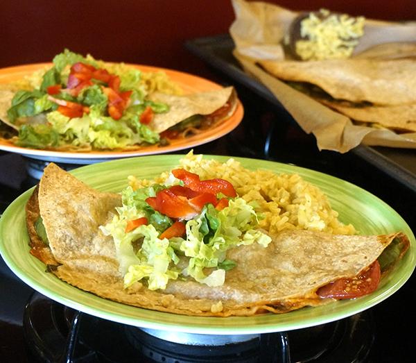 Jazzy Vegetarian's Healthy, Hearty Avocado Quesadillas