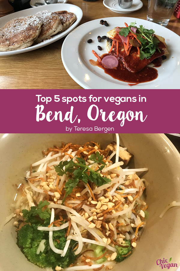 Bend, Oregon has rock climbing, trail running, river tubing and lots of vegan food, from breakfast to coconut-based ice cream.