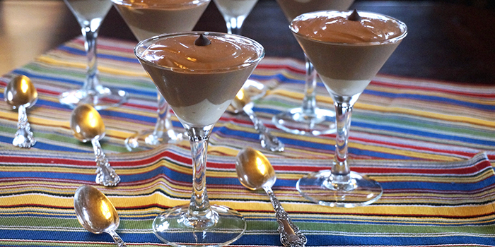 Jazzy Vegetarian's Vanilla Cream-Chocolate Pudding Parfaits