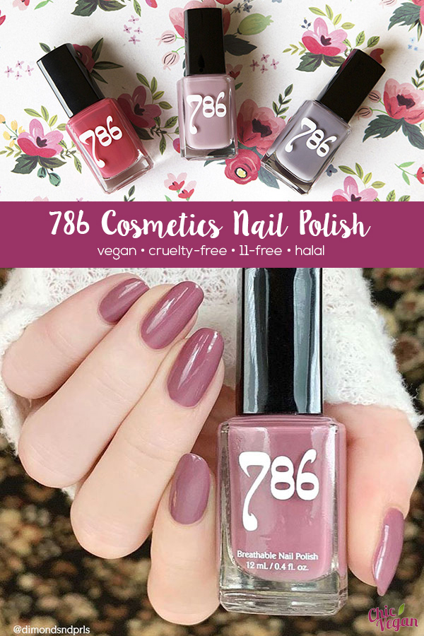 Treat your nails to a cruelty-free manicure with 786 Cosmetics Nail Polish. They're vegan, halal-certified, 11-free, and made in the United States.