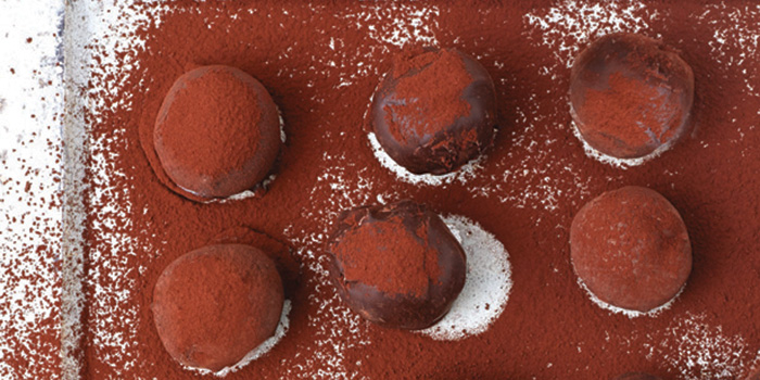 Fran Costigan's Vegan Bittersweet Chocolate Truffles