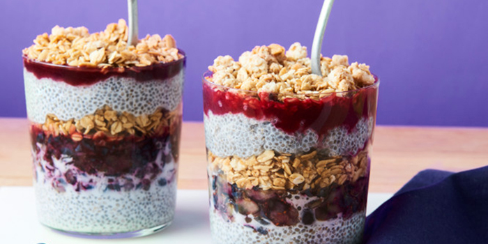Make-Ahead Chia Pudding Parfaits from The College Vegan Cookbook