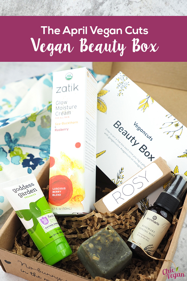 Perfect your springtime cruelty-free beauty regime with the April Vegan Cuts Vegan Beauty Box! The latest box contains a full 5-step facial routine.