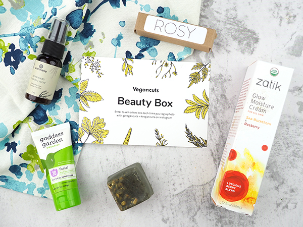 The Vegan Cuts April Vegan Beauty Box