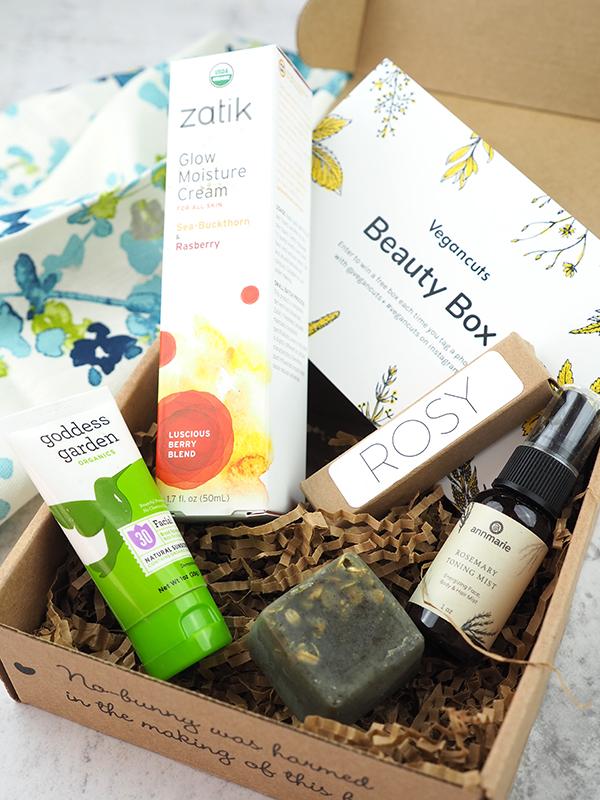 The May Vegan Cuts Vegan Beauty Box