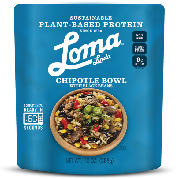 Plant-Based Protein Meal Solutions Chipotle Bowl