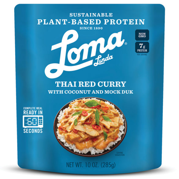 Plant-Based Protein Meal Solutions Thai Red Curry