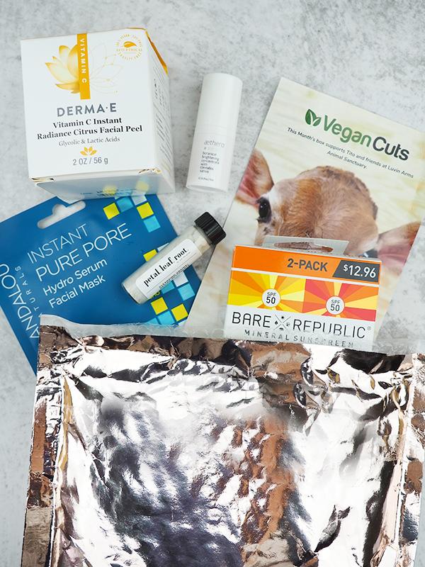 The June Vegan Cuts Vegan Beauty Box
