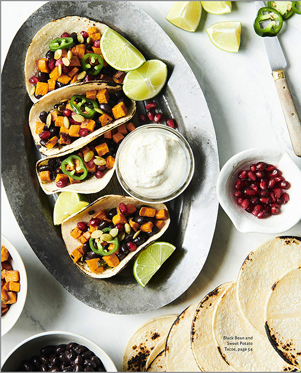 Black Bean and Sweet Potato Tacos