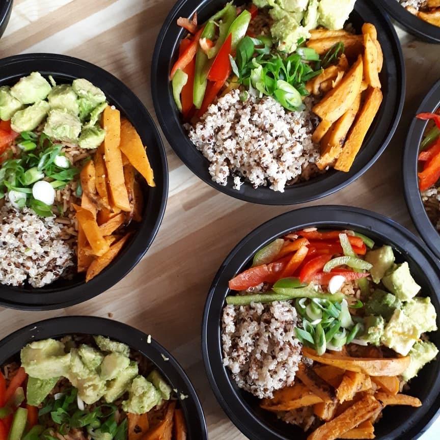 vegan food by Amy Lane