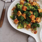 Teriyaki Tempeh and Broccoli