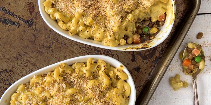 Vegan Shepherd's Pie Mac and Cheese