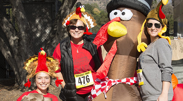 Annual Tofurky Trot coming on on Thanksgiving Day
