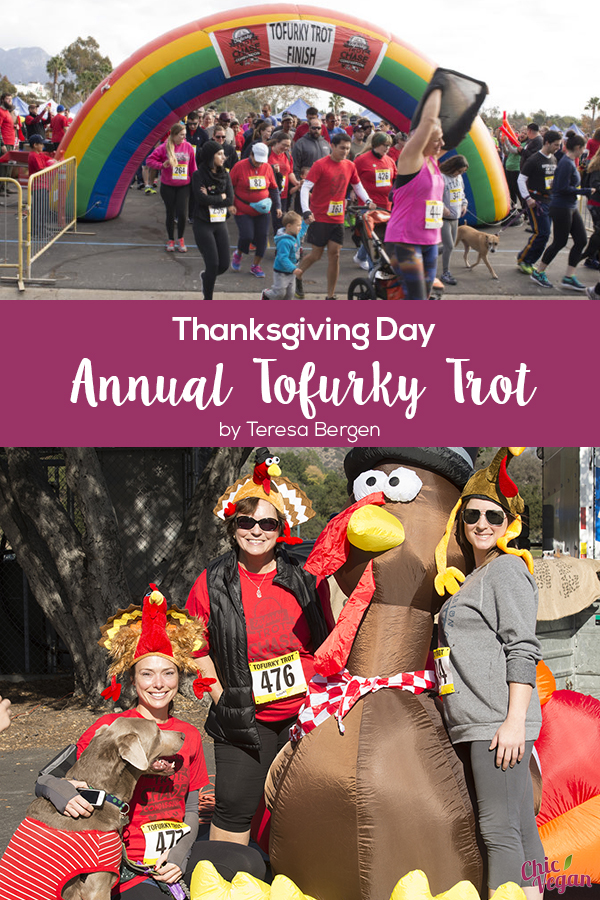 My favorite race of the year is coming up, Portland's Tofurky Trot. This 5K, put on by Northwest VEG and sponsored by Tofurky, has become a tradition for many residents of this town known as a vegan paradise.