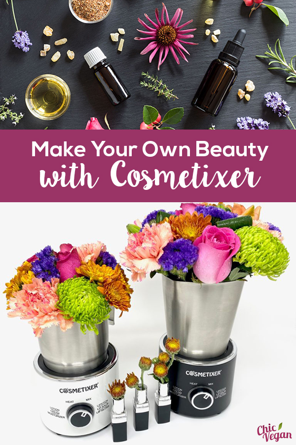 Make your own beauty products with the Cosmetixer! The Cosmetixer is a machine designed to make beauty products in a quick & easy way.